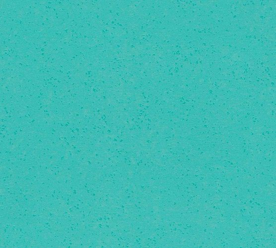 Wallpaper Wolfgang Joop plain aquamarine Metallic 33929-4