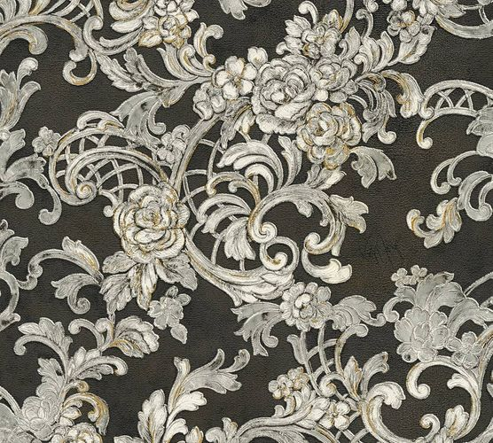 Wallpaper Wolfgang Joop ornament black Metallic 34077-2 online kaufen