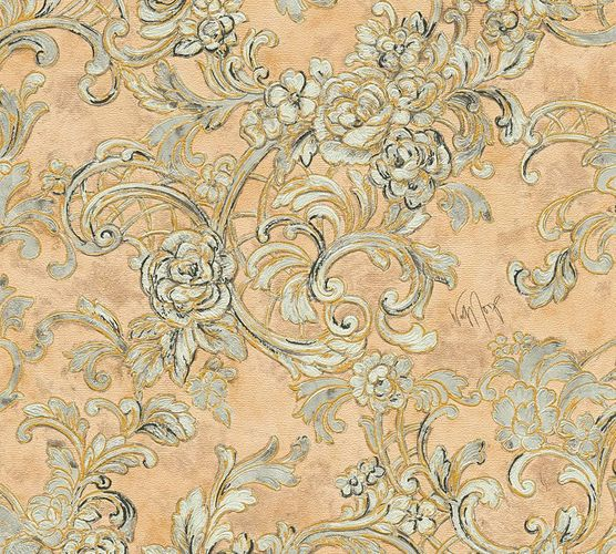 Wallpaper Wolfgang Joop ornament brown beige Metallic 34077-5 online kaufen