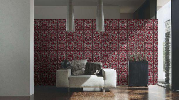 Wallpaper Wolfgang Joop greek temple red glitter 34086-1 online kaufen