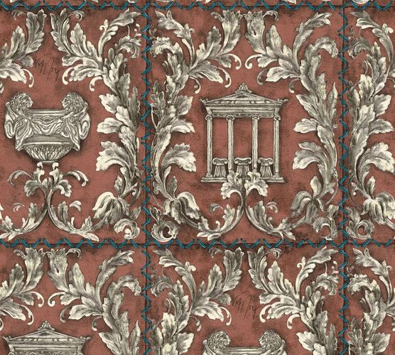Wallpaper Wolfgang Joop greek temple brown glitter 34086-5 online kaufen
