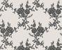 Wallpaper flower tendril silver white gloss AS 1102-20 001
