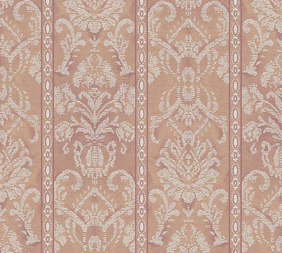 Wallpaper ornaments stripes brown gloss AS 33865-5 online kaufen