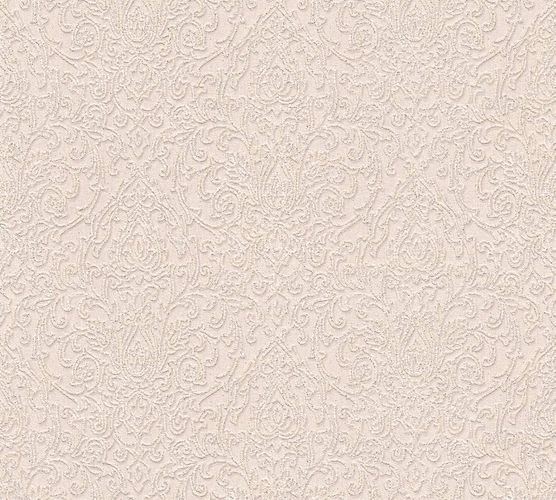 Wallpaper baroque classic cream beige gloss AS 33866-2