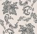 Wallpaper tendril floral silver grey gloss AS 33867-3 001