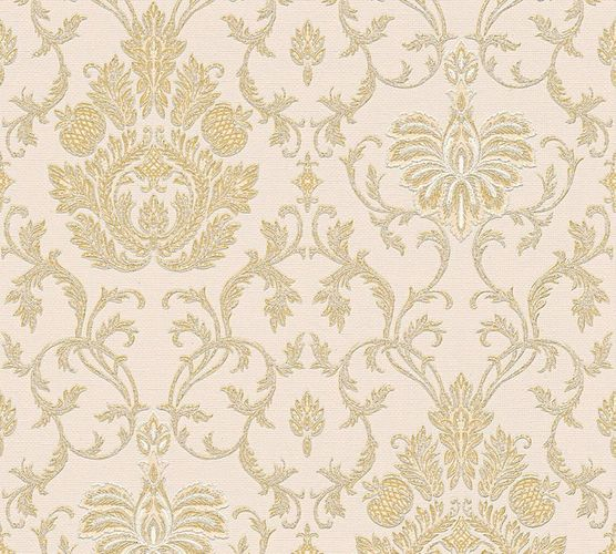 Wallpaper baroque ornaments gold gloss AS 3390-27 online kaufen