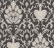 Wallpaper baroque ornaments anthracite gloss AS 3390-58 001