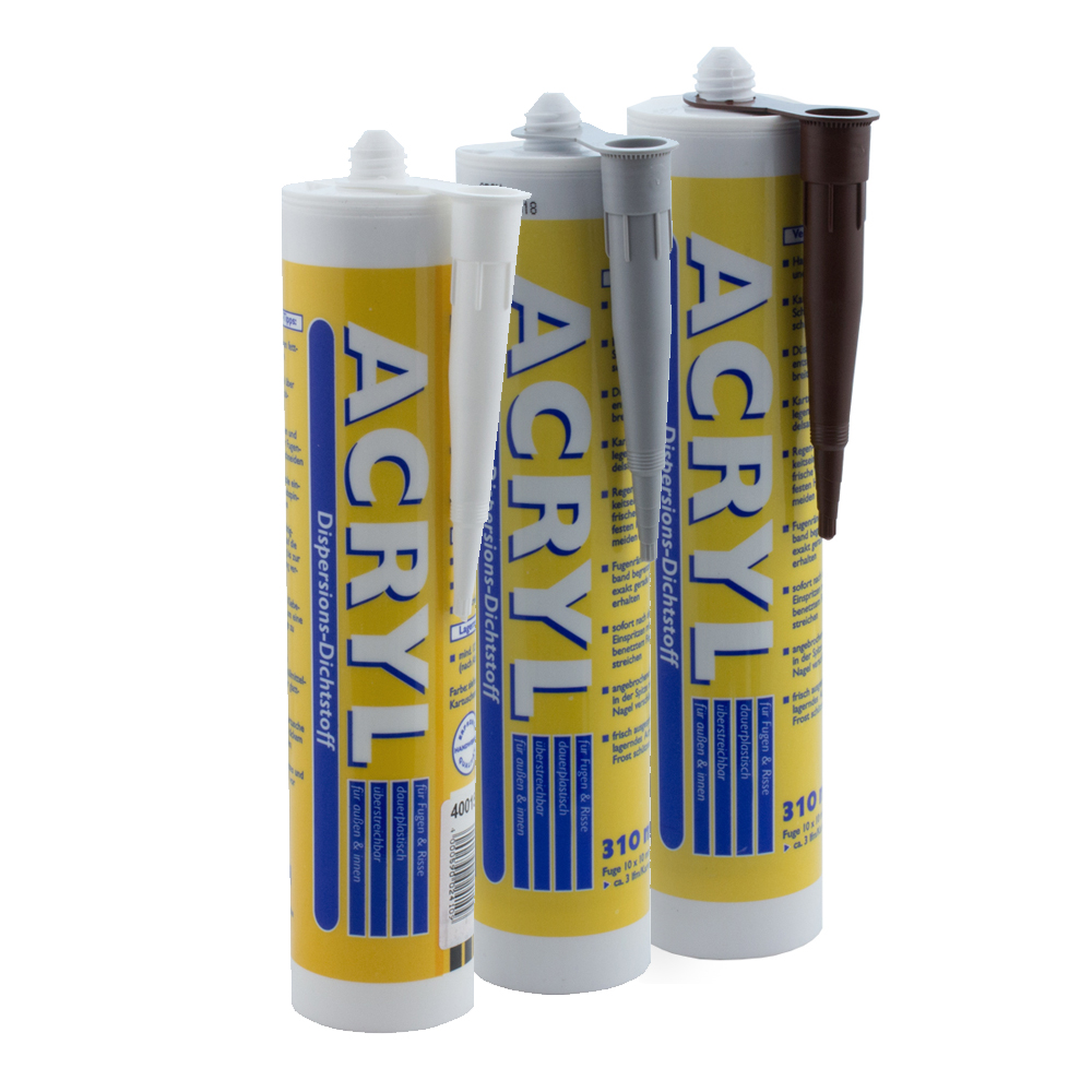 acryl fugendicht dichtmasse 310 ml maleracryl wilckens