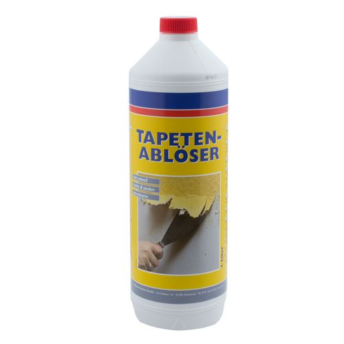 Liquid Wallpaper Remover 1 litres Wallpaper Solvent Wilckens