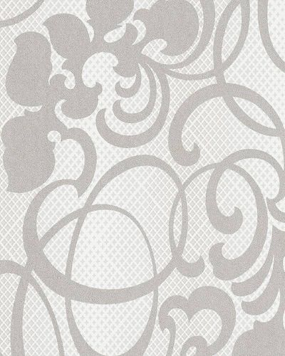 Wallpaper tendrils stars beige grey metallic Marburg 58645