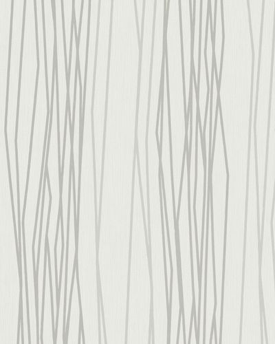Wallpaper stripes abstract white grey gloss Marburg 57812 online kaufen
