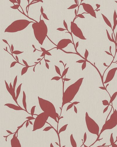 Wallpaper tendrils floral beige grey red gloss Marburg 57835 online kaufen