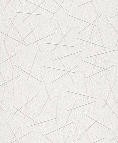 Wallpaper paintable stroke scraps Rasch Wallton 339604