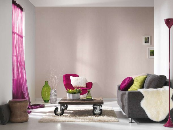 Wallpaper Eco stripes graphic rose gloss AS 34134-3 online kaufen