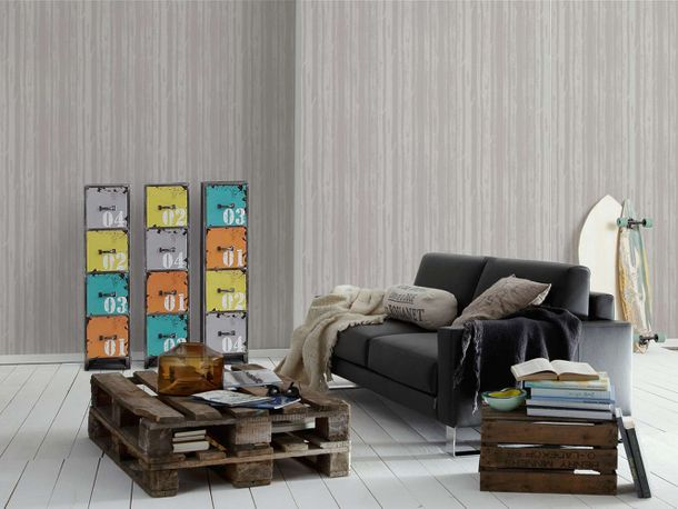 Wallpaper Eco tree nature grey gloss AS 34135-1 online kaufen