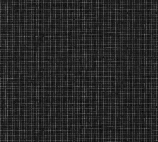 Wallpaper Eco plaid checked black gloss AS 34136-2