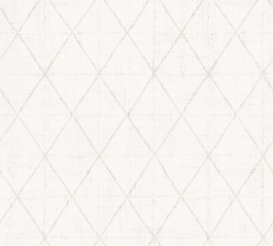 Wallpaper Eco graphic cream white gloss AS 34137-7 online kaufen