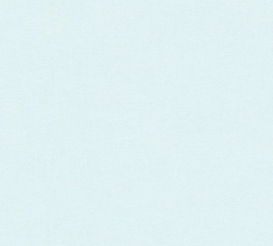 Wallpaper Eco plain light blue gloss AS 34138-6