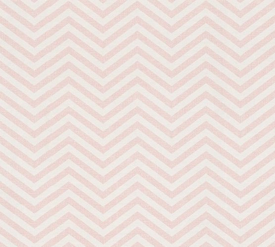 Wallpaper Eco ethno zigzag rose gloss AS 34139-2