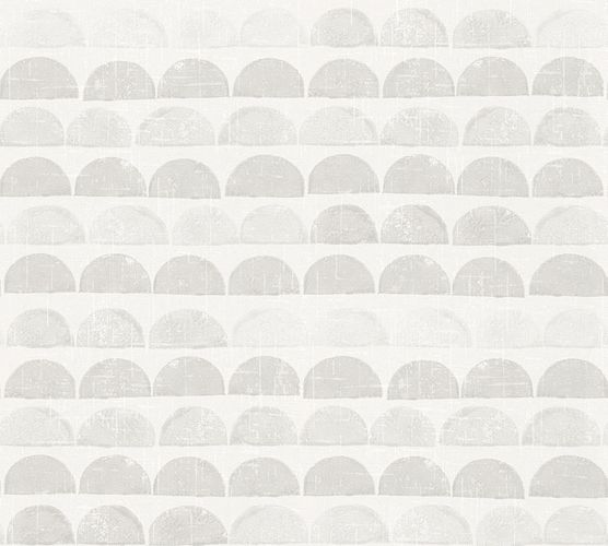 Wallpaper Eco semicircle graphic grey AS 34244-3 online kaufen
