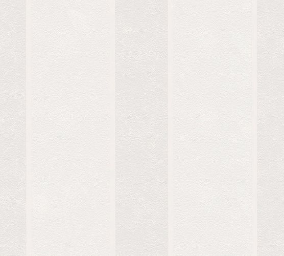 Wallpaper striped light grey gloss AS 34303-2