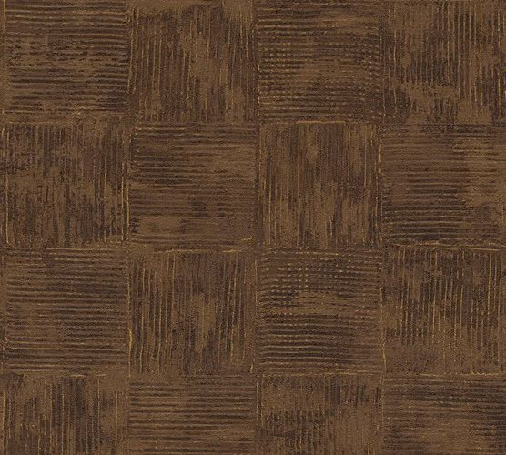 Wallpaper tiles vintage brown gold AS Creation 33989-6 online kaufen