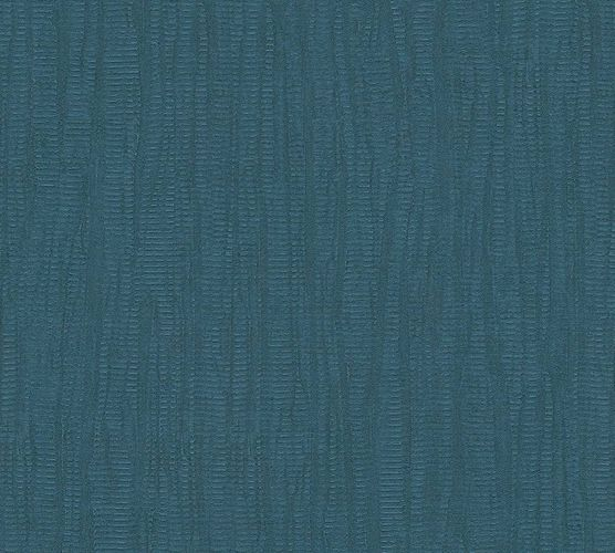 Wallpaper textured design blue AS Creation 34061-6