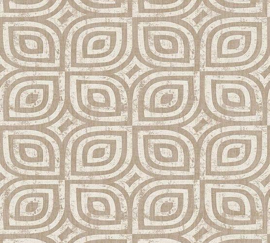 Wallpaper aztec vintage taupe silver livingwalls 32737-1 online kaufen
