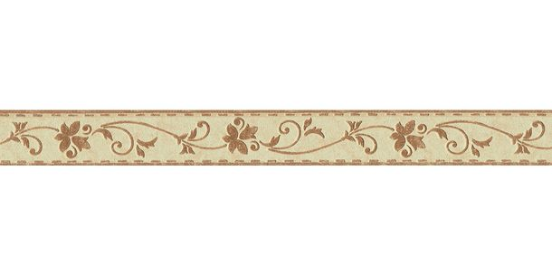 Wallpaper Border Tendril beige brown self-adhesive 2590-28 online kaufen