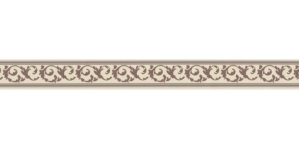 Wallpaper Border Tendril cream brown self-adhesive 2591-10 online kaufen