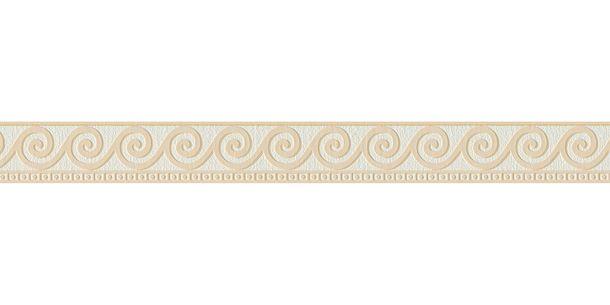 Wallpaper Border Wave white beige self-adhesive 2592-19 online kaufen