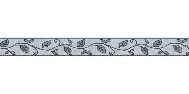 Wallpaper Border Leaf Floral grey self-adhesive 2622-19 online kaufen