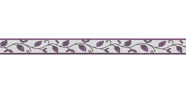 Wallpaper Border Leaf white grey self-adhesive 2622-26 online kaufen