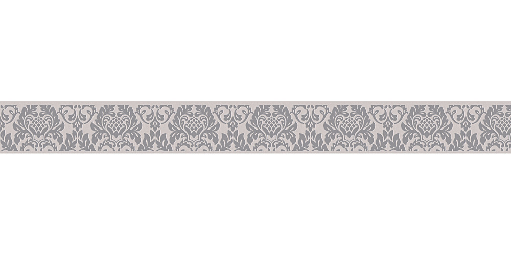 Wallpaper Border Baroque Grey Self Adhesive 30389 2