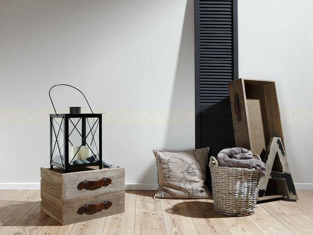 Wallpaper Border Tendril cream Gloss self-adhesive 9062-12 online kaufen