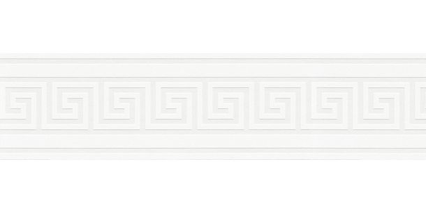 Wallpaper Border Greek cream white Gloss self-adhesive 93647-1 online kaufen