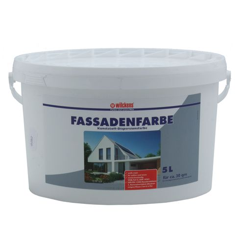 Wilckens Facade Paint White 5 liters Paint Wilckens