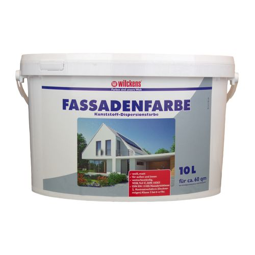 Wilckens Facade Paint White 10 liters Paint Wilckens