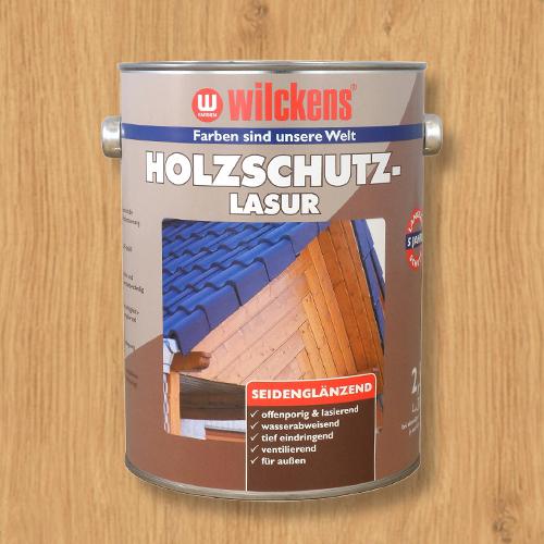 Holzschutzlasur farblos 2,5l Lasur Wetterschutz Wilckens