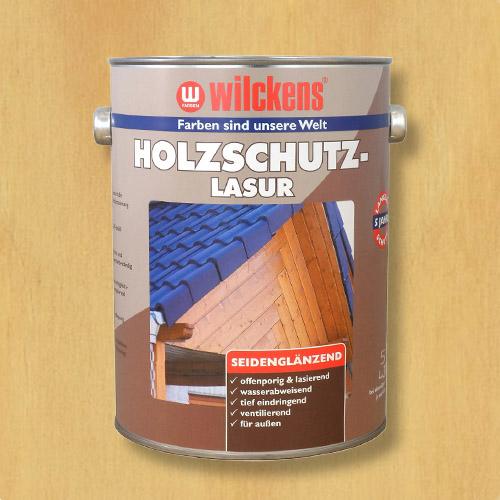 Holzschutzlasur kiefer 5l Lasur Wetterschutz Wilckens