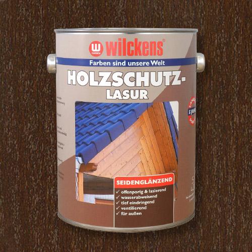 Holzschutzlasur nussbaum 5l Lasur Wetterschutz Wilckens