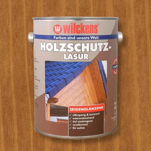 Holzschutzlasur eiche 2,5l Lasur Wetterschutz Wilckens
