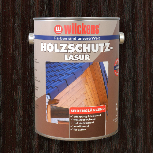 Wood Stain Protection Glaze Palisander 2.5 litres Wilckens