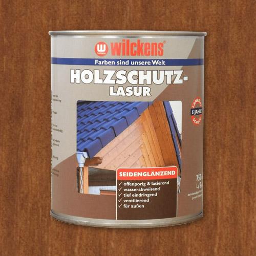 Holzschutzlasur teak 750ml Lasur Wetterschutz Wilckens