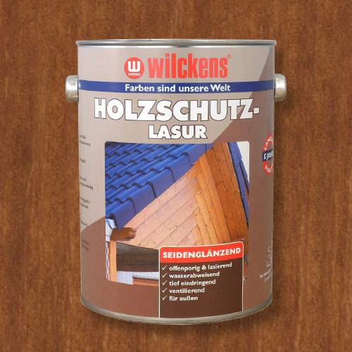 Holzschutzlasur teak 5l Lasur Wetterschutz Wilckens