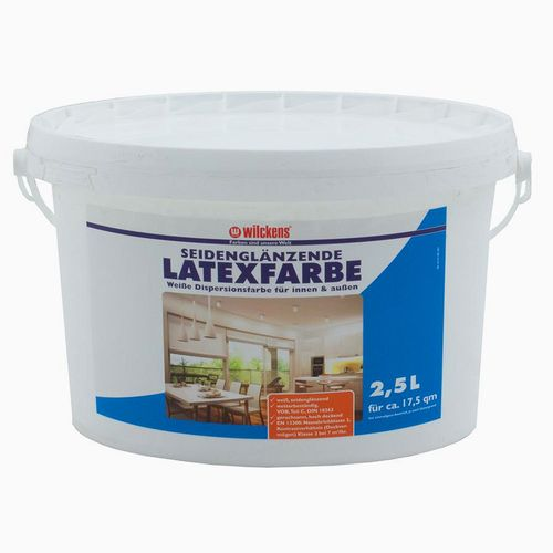 Latex Paint Silk Gloss 2.5 liters Latex Painting Wilckens