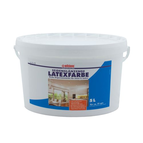 Latex Paint Silk Gloss 5 liters Latex Painting Wilckens online kaufen