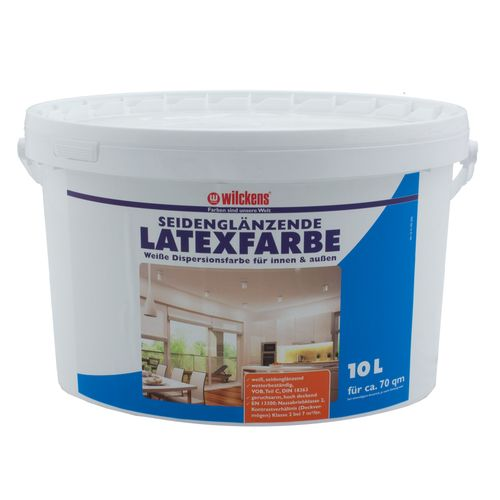 Latex Paint Silk Gloss 10 liters Latex Painting Wilckens online kaufen
