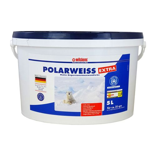 Polarweiß Extra 10 liters White Paint Wilckens