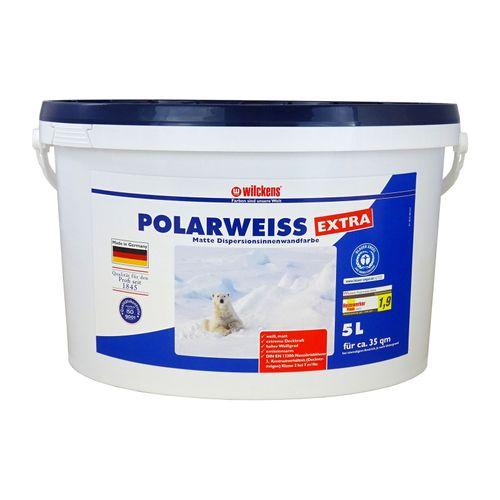 Wilckens Polarweiss extra Weiß Wandfarbe Dispersion 5 L online kaufen